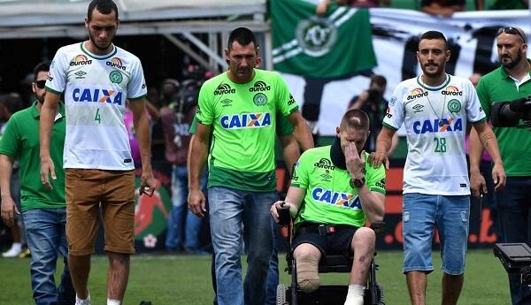 FBL-BRAZIL-CHAPECOENSE-PALMEIRAS-SURVIVORS