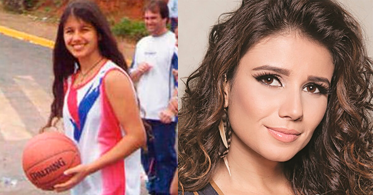 Tem Na Web - Celebridades Brasileiras Antes E Depois Da Fama